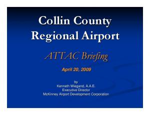 Collin County Regional Airport