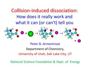 Collision-induced induced dissociation: How does it really work and what it can (or can't) tell you
