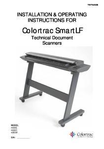 Colortrac SmartLF Technical Document Scanners