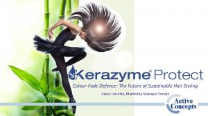 Colour-Fade Defence: The Future of Sustainable Hair Styling. Anna Crovetto, Marketing Manager Europe