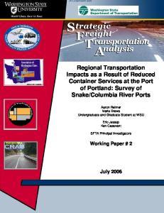 Columbia River Ports