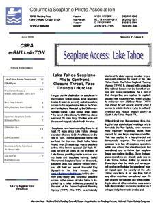 Columbia Seaplane Pilots Association