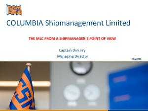 COLUMBIA Shipmanagement Limited