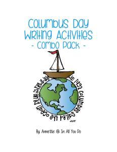Columbus Day Writing Activities
