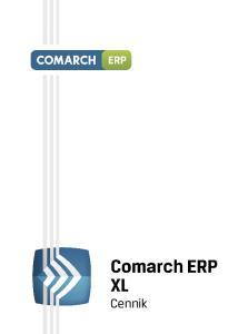 Comarch ERP XL online