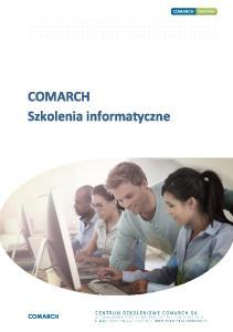 COMARCH Szkolenia informatyczne