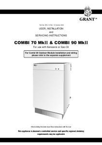 COMBI 70 MkII & COMBI 90 MkII