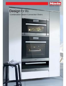 Combination Steam-Convection Ovens