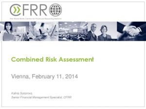 Combined Risk Assessment