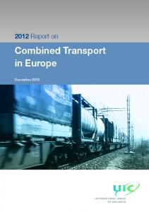 Combined Transport in Europe