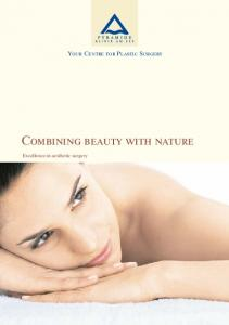Combining beauty with nature