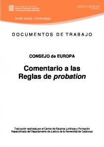 Comentario a las Reglas de probation