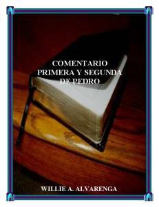 COMENTARIO PRIMERA Y SEGUNDA DE PEDRO