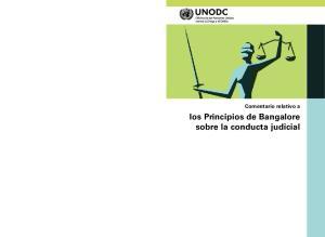 Comentario relativo a. los Principios de Bangalore sobre la conducta judicial