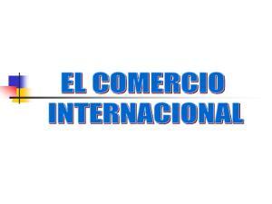 COMERCIO EXTERIOR comercio exterior