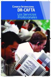 Comercio Internacional. DR-CAFTA Los Servicios Profesionales