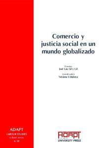 Comercio y justicia social en un mundo globalizado