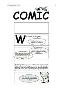 COMIC. Was ist eigentlich ein COMIC?