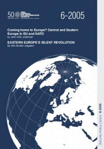 Coming home to Europe? Central and Eastern Europe in EU and NATO by Jahn Otto Johansen