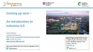 Coming up next. An introduction to Industrie 4.0
