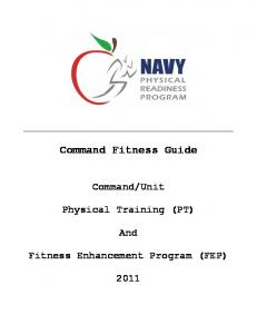 Command Fitness Guide