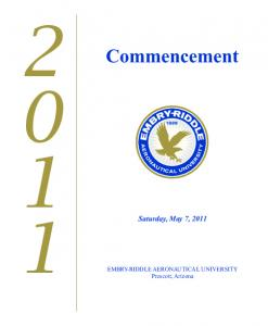 Commencement Saturday, May 7, 2011