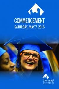 COMMENCEMENT SATURDAY, MAY 7, 2016