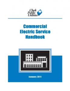 Commercial Electric Service Handbook
