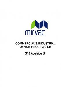 COMMERCIAL & INDUSTRIAL OFFICE FITOUT GUIDE. 340 Adelaide St
