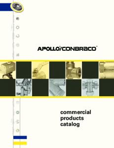 commercial products catalog