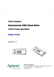Commercial USB Flash Drive