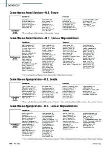 Committee on Appropriations U.S. House of Representatives