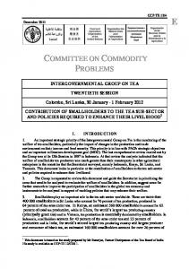 COMMITTEE ON COMMODITY PROBLEMS