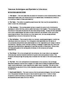 Common Archetypes and Symbols in Literature