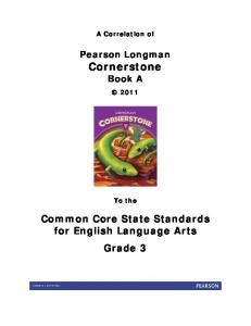 Common Core State Standards for English Language Arts Grade 3