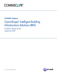 CommScope Intelligent Building Infrastructure Solutions (IBIS)