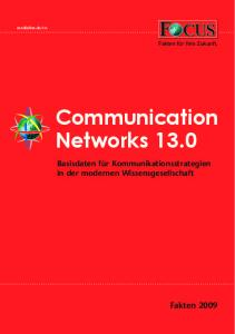Communication Networks 13.0