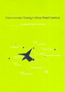 Communication Training In Africa : Model Curricula