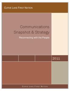 Communications Snapshot & Strategy