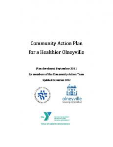Community Action Plan for a Healthier Olneyville