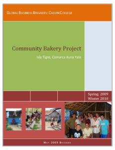 Community Bakery Project