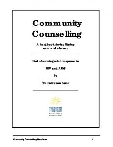 Community Counselling