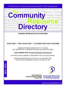Community. Directory