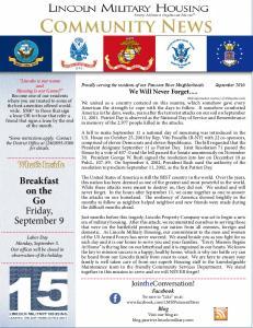 Community News. Breakfast on the Go Friday, September 9. What s Inside