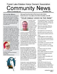 Community News December 2016