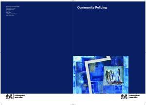 Community Policing. Kantonspolizei Basel-Stadt. Community Policing. Wm1 Ruedi Spaar Postfach 4001 Basel