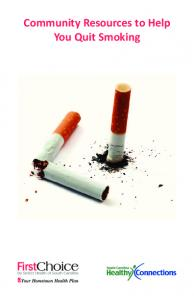 Community Resources to Help You Quit Smoking
