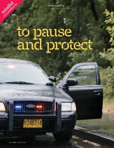 community to pause and protect