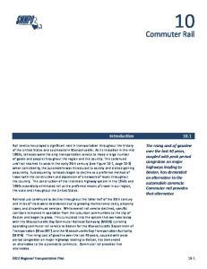 Commuter Rail Introduction