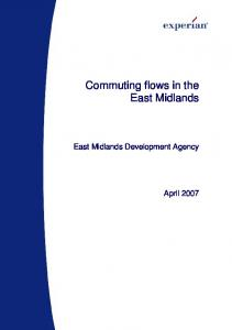 Commuting flows in the East Midlands. East Midlands Development Agency